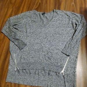 Express Oversize V-Neck sweater small